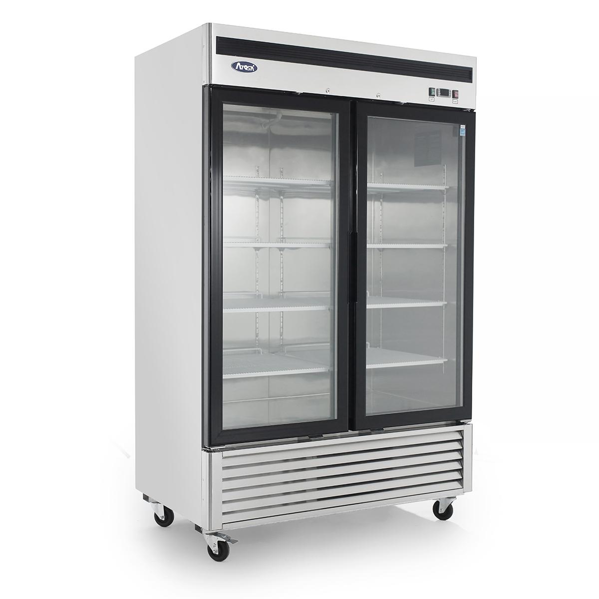 Mcf8703 bottom mount 2 two glass door freezer atosa catering mcf8703 bottom mount 2 two glass door freezer planetlyrics Choice Image