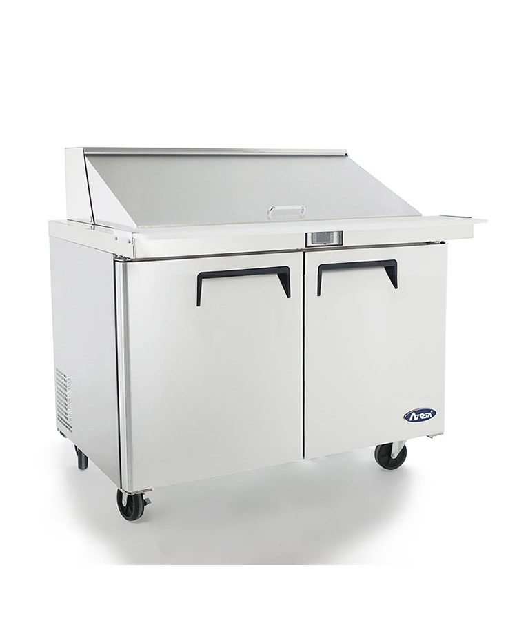 msf8306 48u2033 mega top sandwich prep table u2013 atosa catering equipment inc - Sandwich Prep Table