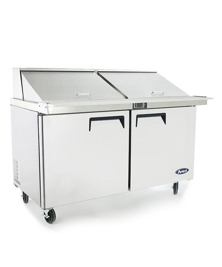 msf8307 60u2033 mega top sandwich prep table u2013 atosa catering equipment inc - Sandwich Prep Table