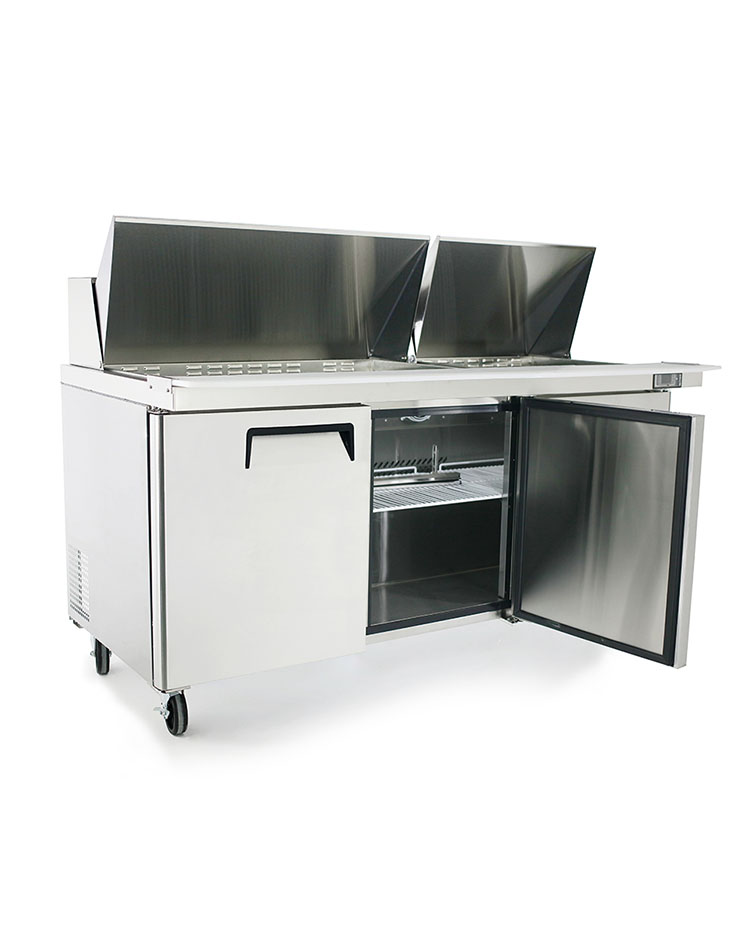 MSF Mega Top Sandwich Prep Table Atosa Catering Equipment - Sandwich prep table for sale