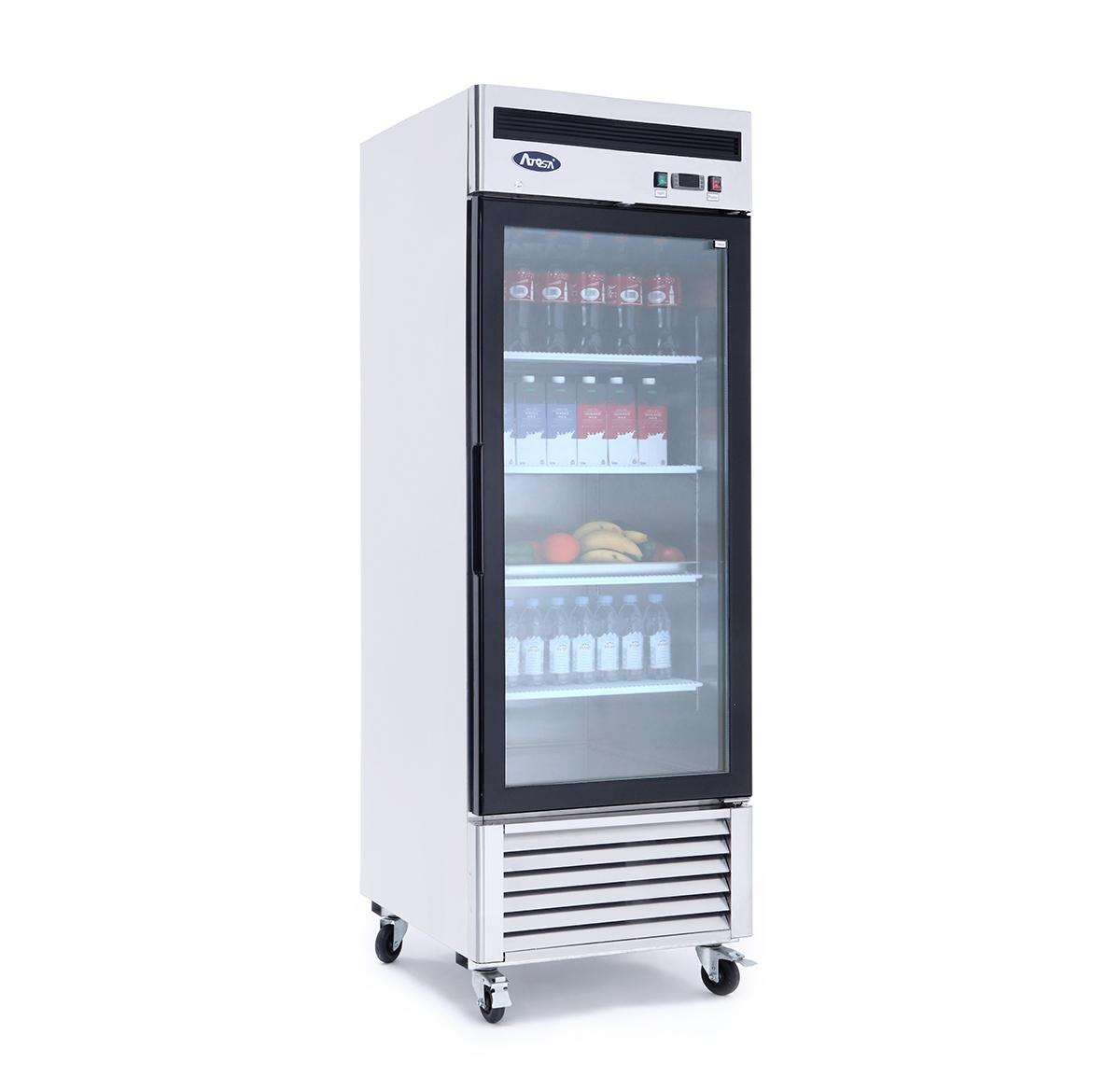 mcf8705 bottom mount 1 one glass door refrigerator. Black Bedroom Furniture Sets. Home Design Ideas