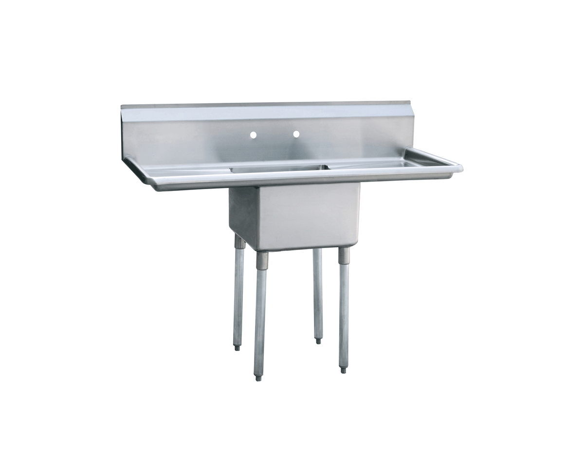 MRSA 1 D Compartment Sink