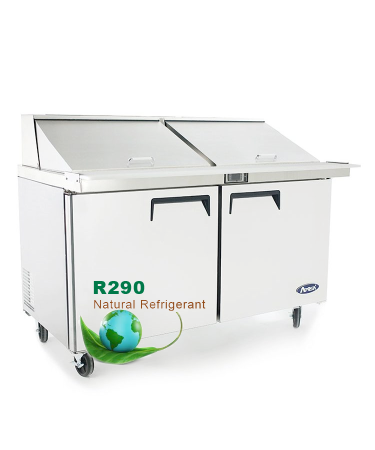 Astonishing Msf8307Gr 60 Mega Top Sandwich Prep Table Atosa Catering Home Remodeling Inspirations Genioncuboardxyz
