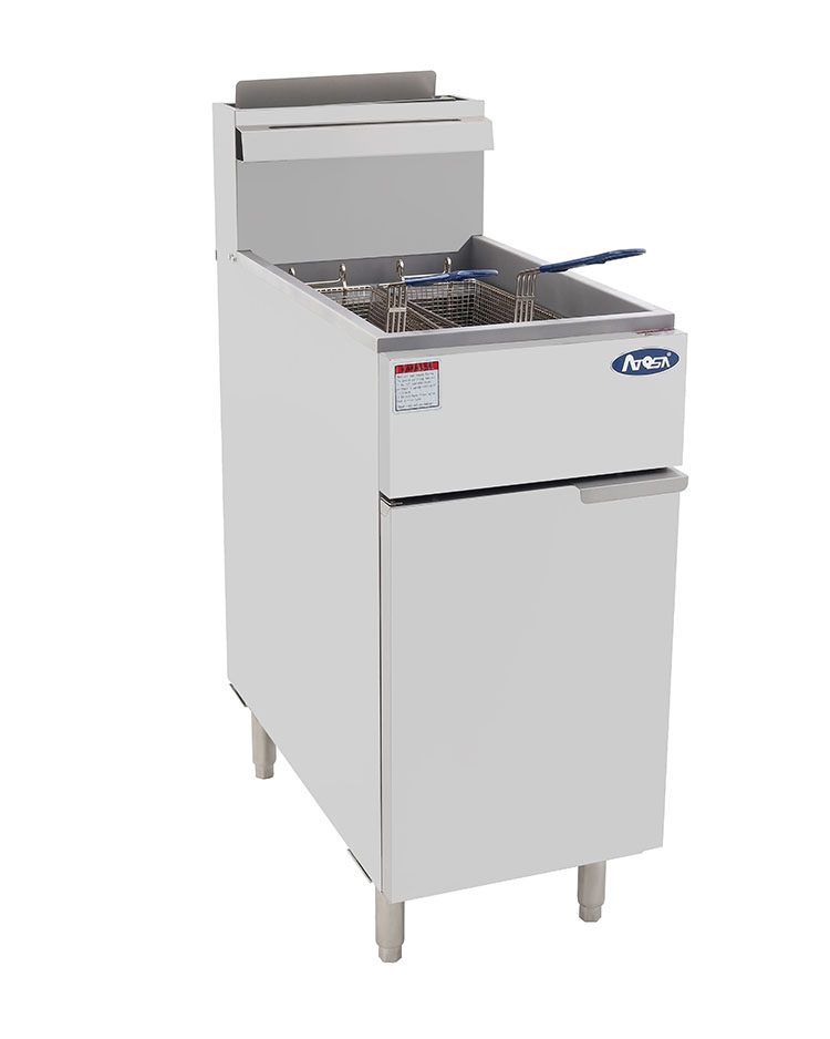 ATFS-40 HD 40lb S/S Commercial Deep Fryer – Atosa Catering ... on