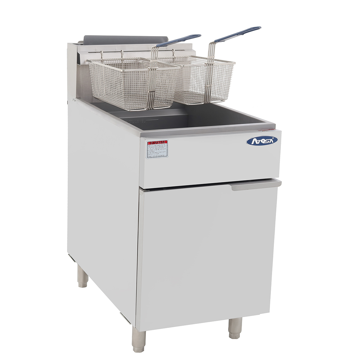 ATFS-75 HD 75 S/S Commercial Deep Fryer – Atosa Catering ...