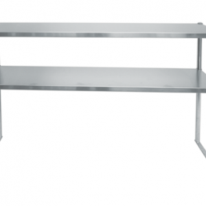 Worktable, overshelf, stainless steel overshelf